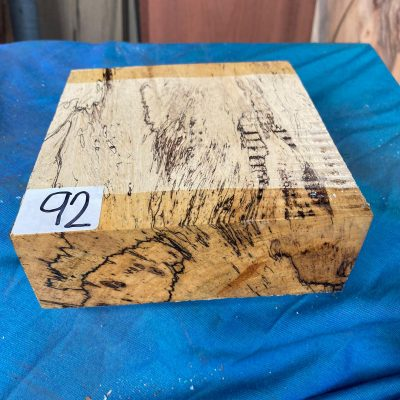 Spalted Tamarind 6x6x2 inches
