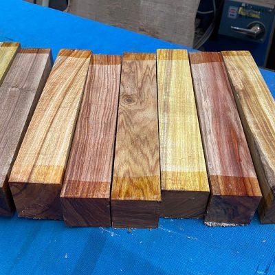 Canarywood 2x2x12 inches