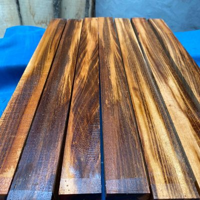 Tigerwood (Goncalo Alves) 2x2x24 inches