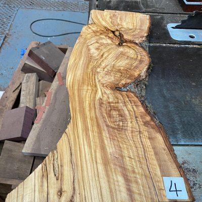 Mediterranean Olivewood Board 635x230x27 mm