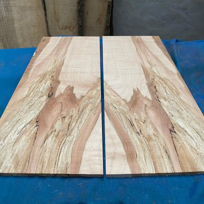 Flamed / Spalted Maple Guitar tops 580x210x9-10 mm