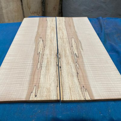 Flamed / Spalted Maple Guitar tops 565x185 mm