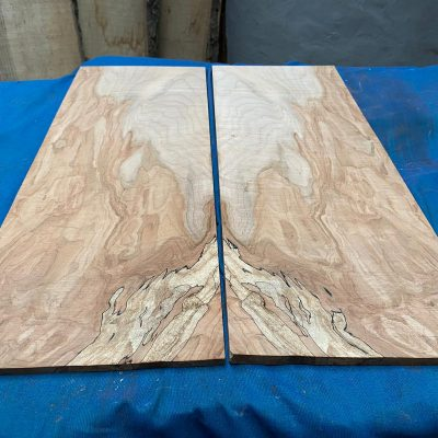 Flamed / Spalted Maple Guitar tops 550x205 mm