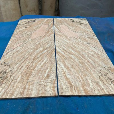 Flamed / Spalted Maple Guitar tops 520x195 mm