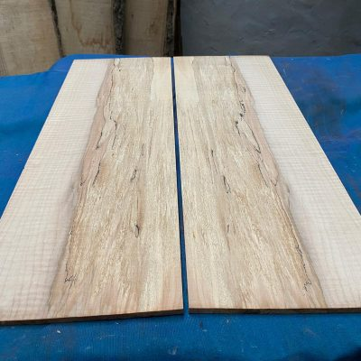 Flamed / Spalted Maple Guitar tops 570x195 mm