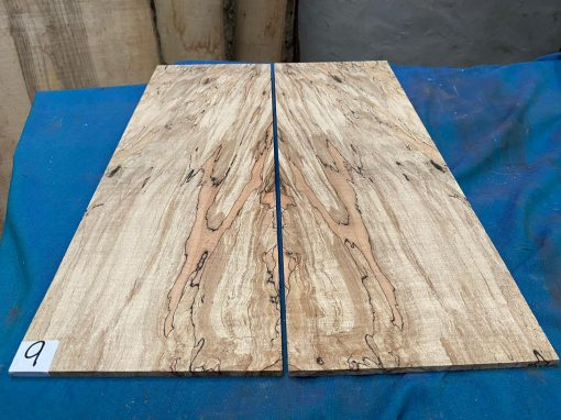 Flamed / Spalted Maple Guitar tops 560x190 mm