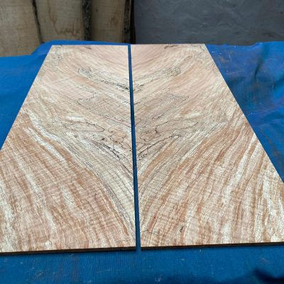 Flamed / Spalted Maple Guitar tops 570x190 mm