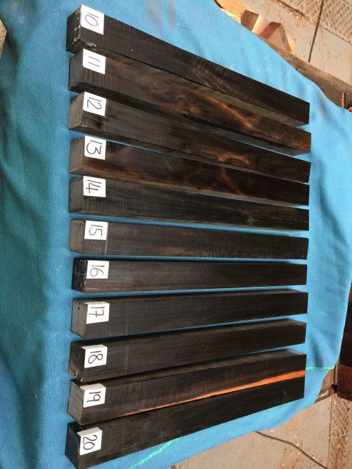 African Ebony 1.5x1.5x19 inches