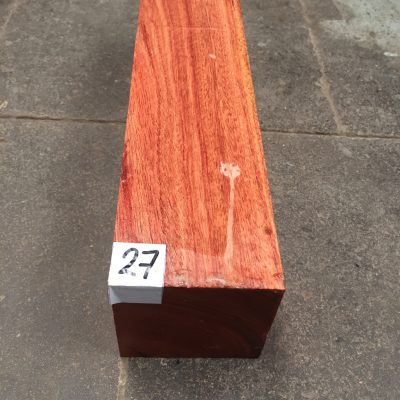 Namibian Rosewood 3x3x12 inches