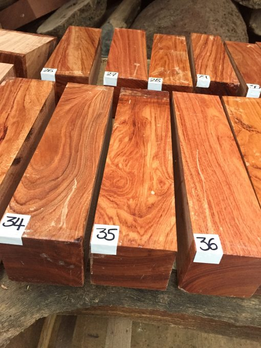 Namibian Rosewood Turning Blanks