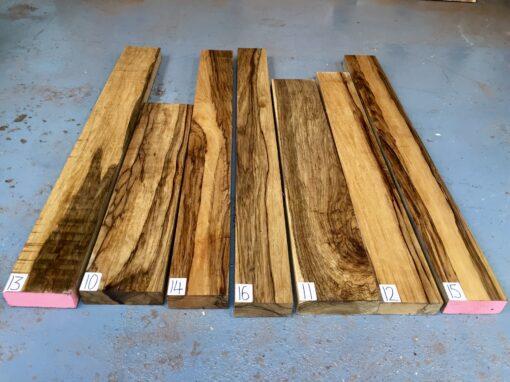 Black Limba/Korina Lumber/Boards