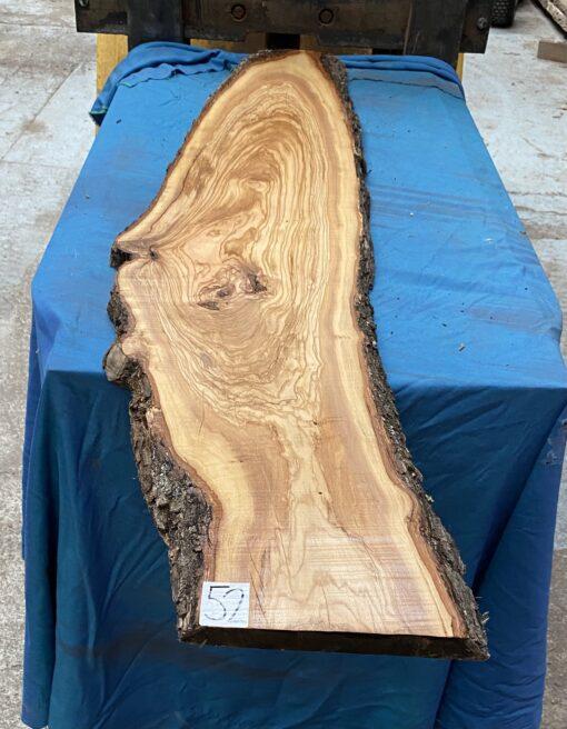 Mediterranean Olivewood Board 1470x280x25 mm
