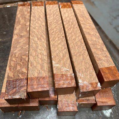 Leopardwood Pen Blank 21x21x130 mm