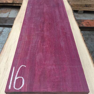 Purpleheart 865x295x29 mm