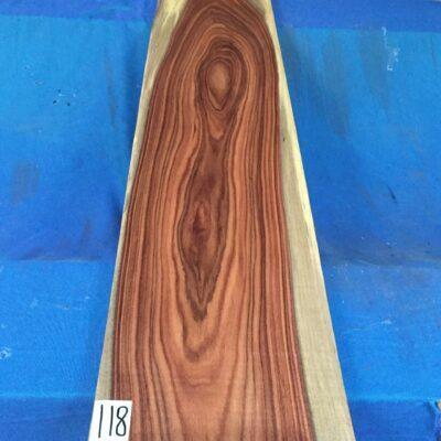Bolivian Rosewood 1300x250x27 mm
