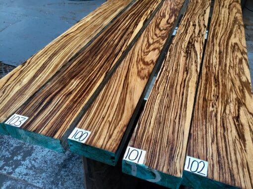 Zebrano Lumber/Boards