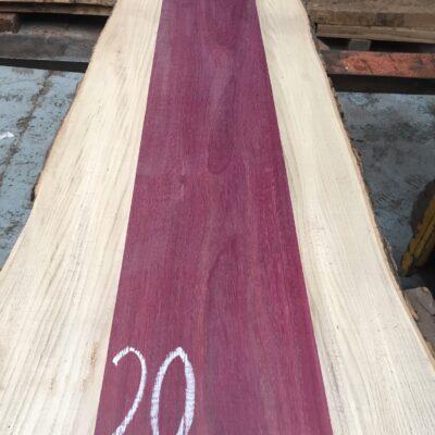 Purpleheart 1290x200x27 mm