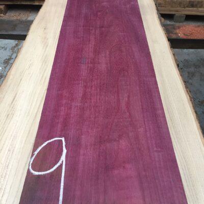 Purpleheart 870x250x29 mm