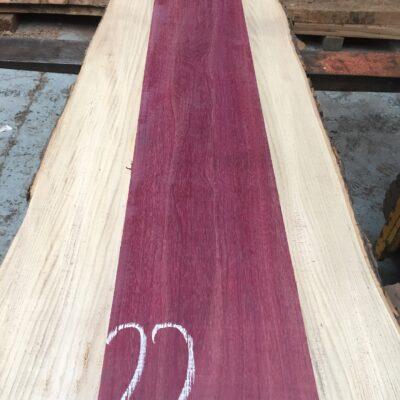 Purpleheart 1310x200x28 mm