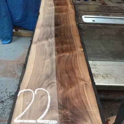 American Walnut 1350x270x32 mm