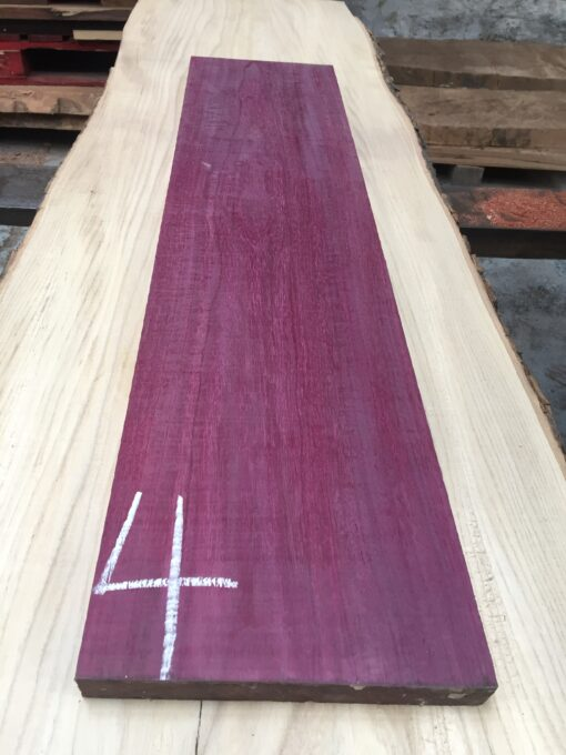 Purpleheart 865x200x27 mm