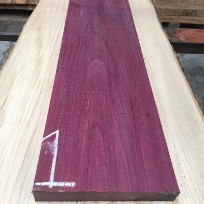 Purpleheart 860x200x29 mm