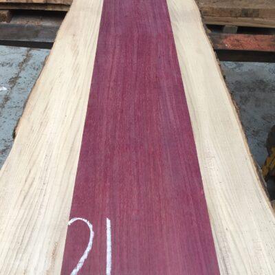 Purpleheart 1295x200x29 mm