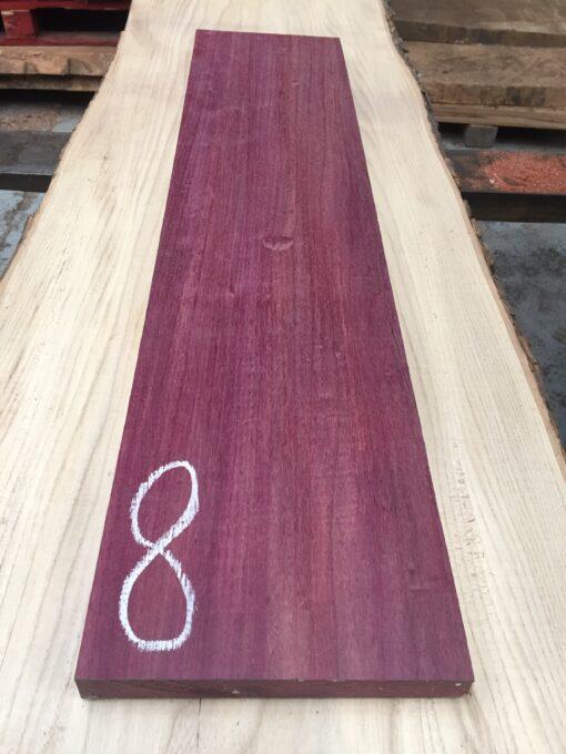 Purpleheart 860x200x27 mm