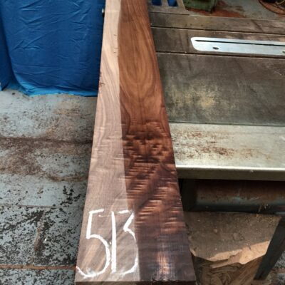 American Walnut 1660x145x48 mm