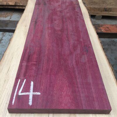 Purpleheart 860x295x30 mm