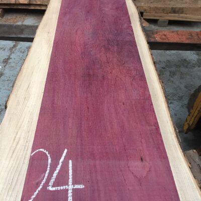 Purpleheart 1295x295x25 mm