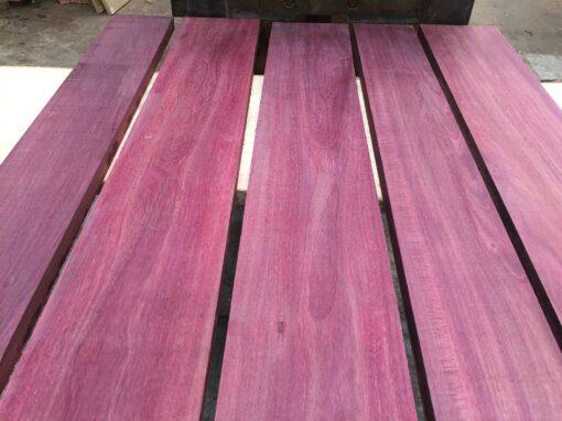 Purpleheart lumber/boards