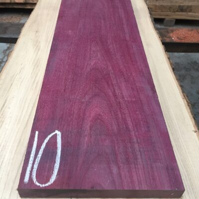 Purpleheart 860x250x30 mm