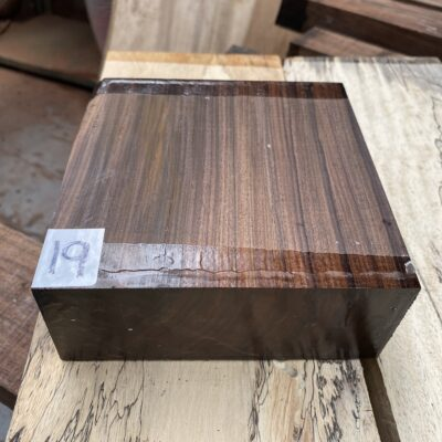 Bolivian Rosewood 6x6x2.25 inches