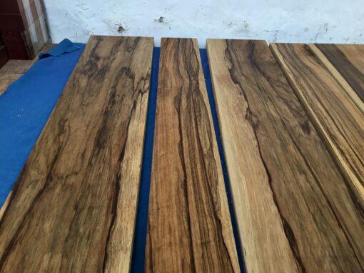 Black Limba / Korina lumber/boards
