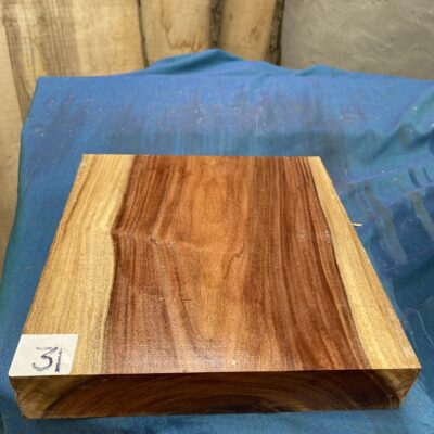 Bolivian Rosewood 10x10x2 inches