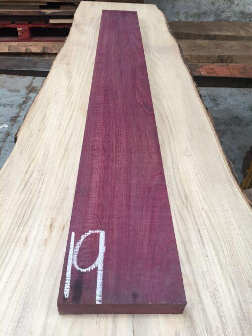 Purpleheart 1295x150x31 mm