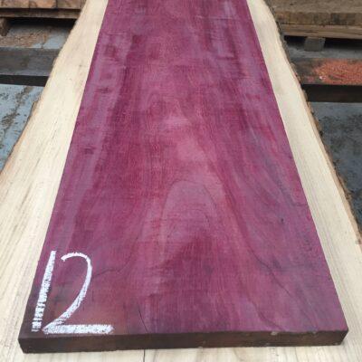 Purpleheart 860x295x27 mm