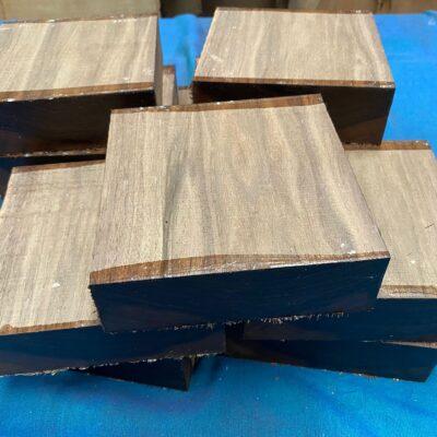 American Walnut 6x6x2 inches